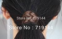 Fashion Color Faux Wig Elastic Rope Ring Hairband Hair Band Ponytail Holder,24pcs/lot