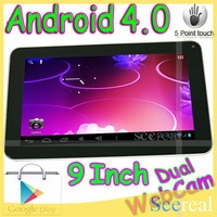 9 Inch Tablet Allwinner A13 512MB 8GB Dual Camera MID 9 Inch Android Tablet PC HDMI Capacitive screen 5Pcs/Lot DHL Free