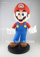 "1 pcs 13""/ 32cm Super Mario Bros Figure Dolls Anime PVC Action Figure Toys High Quality Gift Box"