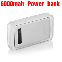 Ultra-thin Metal Fashion 4000mah Power Bank Portable battery For Game player camera tablet pc mp3 mp4 DV Mobile Power