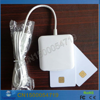 CAC USB Contact Smart IC Card Reader Writer/lector ACS ACR38U-IPC For Windows 7 8 And Mac OS  Free Shipping