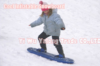 1pc 2013 new child flatable snowboard skiing board snow board snow sports pvc free shipping