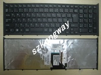 Free Shipping for SONY VPC CB series CB17EC VPC-CB18EC black  with frame  Keyboard 148954711 JP layout keyboard