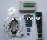 V5.91 IC Clip+Updated TL866CS Willem TL866 High Speed true BIOS USB Universal Programmer + 9adapters 13143+chips