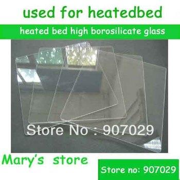 3d printer reprap makerbot heated bed high borosilicate glass 220*220*3mm