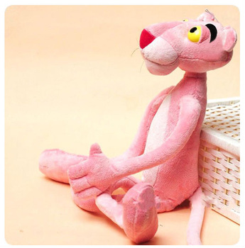 New arriavl hot sale Adorable 40cm Pink Panther Cute plush doll Kids favorite Best gift