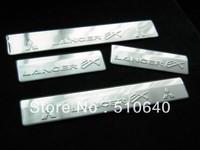 2010-2013 Mitsubishi Lancer/Lancer X/Lancer Evo High quality stainless steel Scuff Plate/Door Sill  nhjj