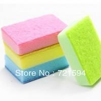 Free Shipping Colorful Degreasing Sponge/Algae Spirogyra Wash Bowl Brush/Cleaning Brush/ Clean Sponge/Multi-functional Sponge