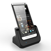 Desktop Charging Cradle Station Dock with Micro USB Sync Data Function for HTC One M7