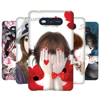 Case for nokia lumia 820 coloured drawing pattern scrub PC hard protective shell Gift HD Screen Protector free shipping