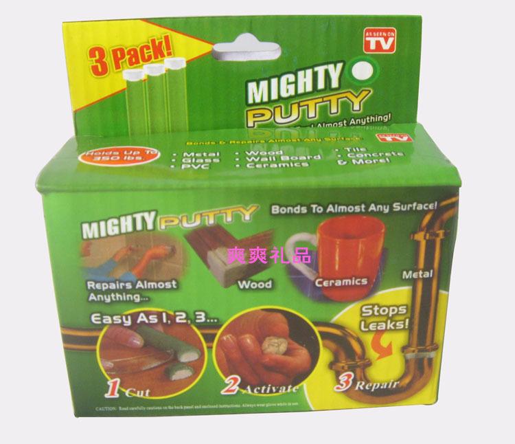 Аксессуары для укладки кафеля Mightyputty resin cement strong clay adhesive as seen on tv