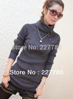 2014 women's thermal sweater shirt thickening sweater