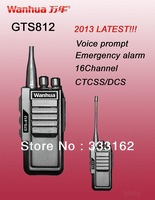 2013 100% NEWEST two way radio,16CH,Emergency alarm,voice prompt,TOT,Monitor/Scan,TOT,CTCSS/DCS,