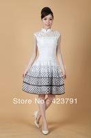 XZBZJ   Fashion Chinese women's MINI Dress Cheongsam S-XXL   UMNM-05