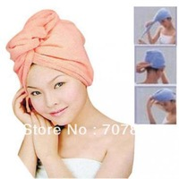 Korea Dry Hair Hat Magic 7 Times Super Absorbent Towel  hair-drying cap 10356