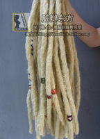 Reggae  synthized hair hiphop dance synthized hair extension rasta dreadlock  free shipping