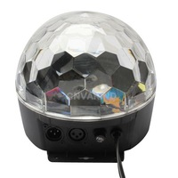 #Cu3 Crystal Magic Ball Effect Disco Stage LED Lighting DMX Control Panel Party