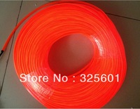 High brightness 5mm diameter 100m per roll el led rope light el wire /el glowing wire in 5 colors ( No inverter)