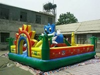 Inflatable trampoline - - large inflatable trampoline