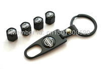 4 X Fancy Valve Tire Wheel Decorated Rim Caps With One Wrench Keychain For Nissan Armada Frontier Titan Murano Quest Pathfinder