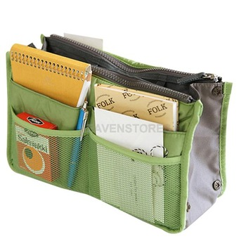 Insert Handbag Organiser Purse Large liner Organizer Bag Amazing Women Travel hv
