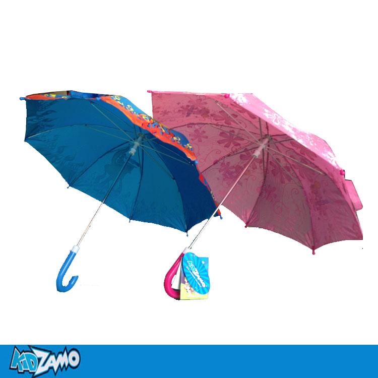 Free Shipping Umbrella kidzamo child umbrella sun umbrella beach sun protection umbrella pink blue male Women(China (Mainland))
