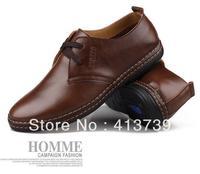 The new winter 2014 Men's casual cotton shoes  Leather warm shoes Men's cotton boots High help cotton shoes Specialprice6603 p75