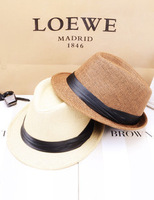 Free shipping summer fashion trend for men and women lovers Sir Straw hat shading joker hat