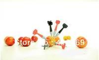 Free Shipping Bullseye Dart Party Picks Fruit Fork Novelty Toothpicks