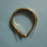 free shipping ,hair band,head band ,golden color ,DIY materials,5mm width , stainless steel, MOQ is 10 pcs .