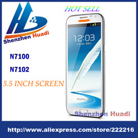 Free shipping N7102 N7100 MTK6589 Scale 1:1 1 Quad core Android 4.1 5.5 INCH PHONE 3G mtk 6589