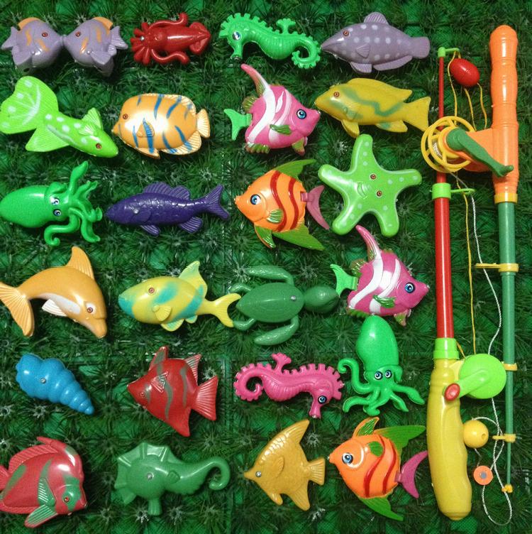детский набор рыбалка