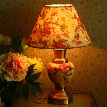 Bobo home ceramics table lamp bed-lighting rustic cul-de-lampe 996