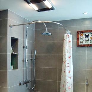 Shower curtain poles acquista shower curtain poles - Asta tenda doccia ...