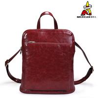 Brand women's handbag solid color PU tote bag 2013 spring backpack
