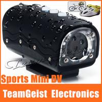 720P 30m IPx8 Waterproof Sports HD MINI DV Camcorder with 120 degree wide-angle 5.0 Mega Pixels CMOS sensor camera Motion Detect