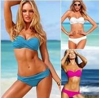 Sexy Bikini Tankinis Set Top Slimming swimsuits swimwear dot push up tankini sexy one piece swim suit high waist swimwear