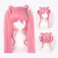 Drift small wig cosplay wig sailor moon rabbit Chibi Usa pink