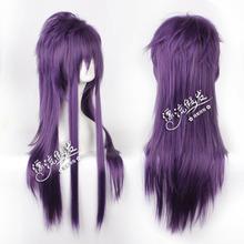 COS drifting wig Sinbad Sinbad dark purple wig face high temperature wire(China (Mainland))