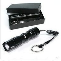 Bright light mini flashlight led lighting outdoor small flashlight light charge flashlight