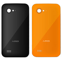 Amoi n821 original cover for amoi n820 n828 mobile phone back cover color covers big v original battery after
