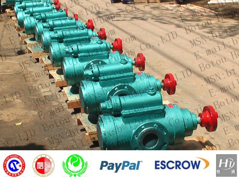 3G80X2/46 1.0Mpa DN125mm 80mm three screw pump/Light fuel oil pump/high viscosity(China (Mainland))