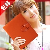 Free shipping New cheapest High quality Luxury Desinger cowskin PU leather case for ipad mini case Cover with Card Holder