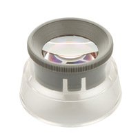 6755 adjustable 6x blindages magnifier aspheric lens