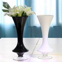 Designer quality flower tall waist thickening slim vase whole home soft accessories brief glass accessories decoration