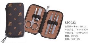 Series beauty set stc033 nail clipper nail art set(China (Mainland))