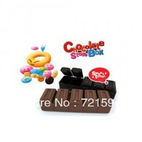 Free Shipping Small kit Chocolate Five Grid Small Storage Box /Pill Case/Pill Boxes/Medicine Box