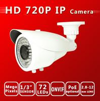 Weatherproof 720p IP Cameras with IR (SW-IP8172-9R)