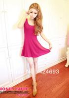 2013 Brief  Cute Casual  Sexy Fashion Ladies Summer Mini Dress 4colors
