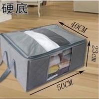 free shipping whloesale hight qualityBamboo full hard storage box the equidistants dual-order box transparent window storage box
